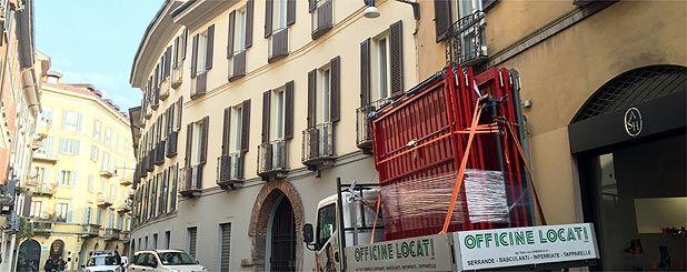 porta garage Milano