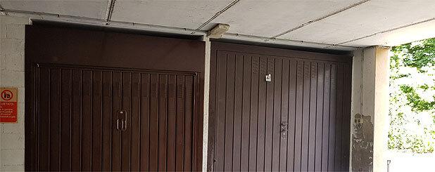 Porta garage condominiale